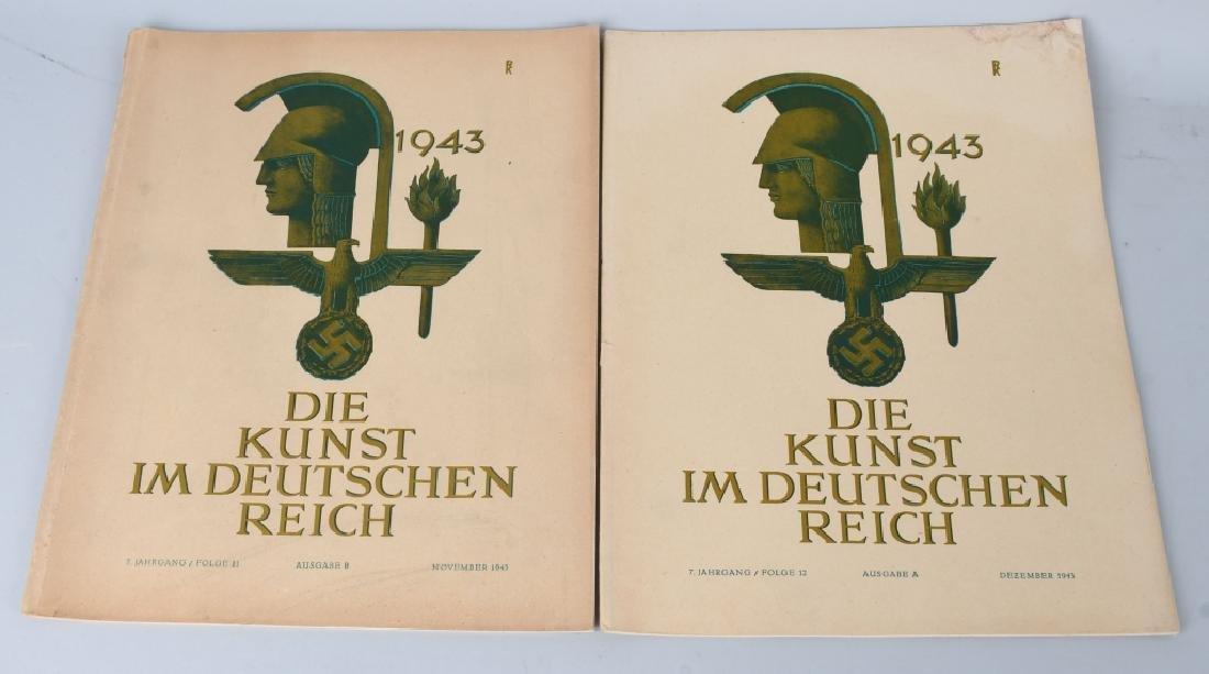 WWII NAZI 1943-44 DIE KUNST IM DEUTSCHEN REICH -12 - 2