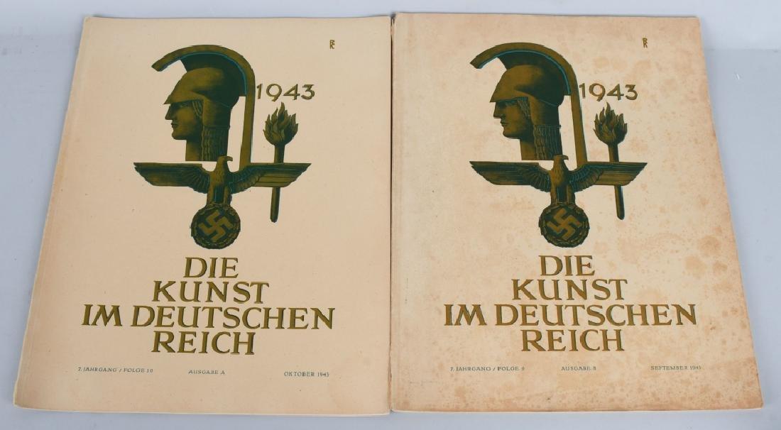 WWII NAZI 1943-44 DIE KUNST IM DEUTSCHEN REICH -12 - 3