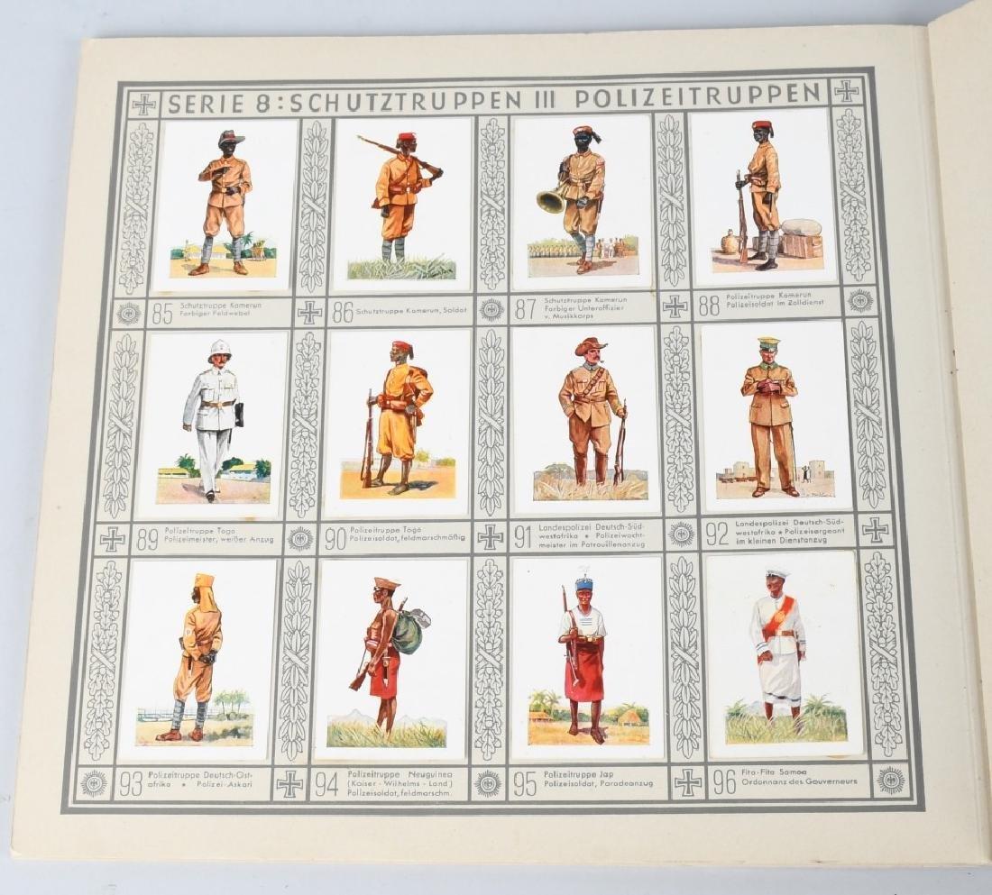 WWII NAZI GERMAN CIGARETTE ALBUMS & DIE KUNST MAGS - 10