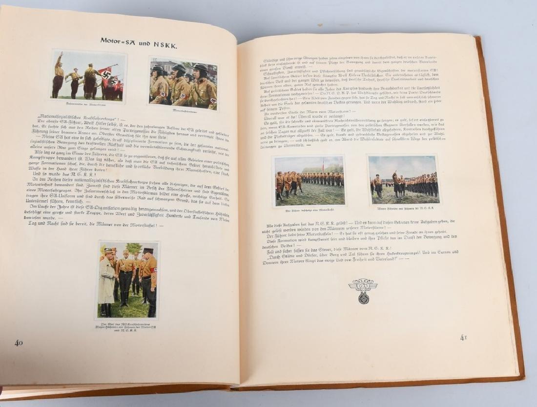 WWII NAZI GERMAN CIGARETTE ALBUMS & DIE KUNST MAGS - 4
