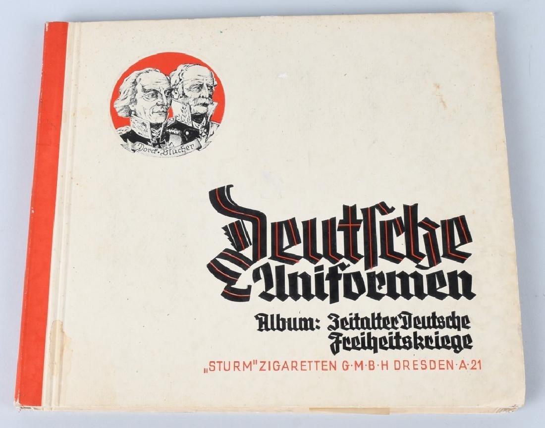 WWII NAZI GERMAN CIGARETTE ALBUMS & DIE KUNST MAGS - 5