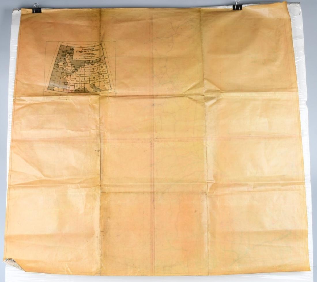 WWII LUFTWAFFE PILOT MAP BORDEAUX LIMOGES FRANCE - 5