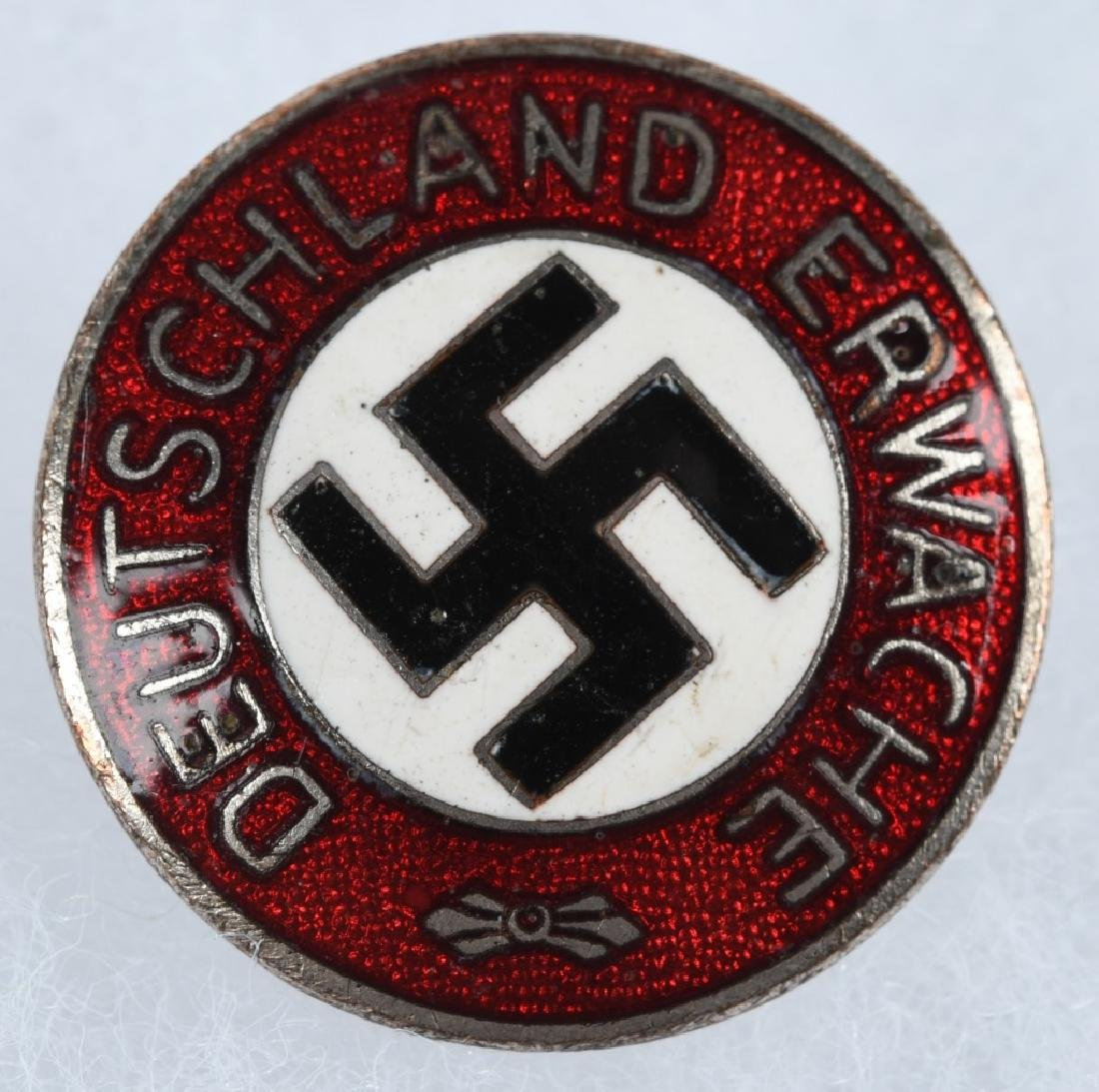 WWII NAZI GERMAN DEUTSCHLAND ERWACHE PARTY PIN