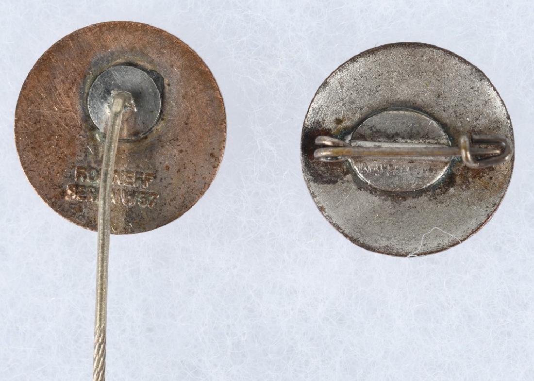 WWII NAZI GERMAN PARTY PIN & STICK PIN - 3