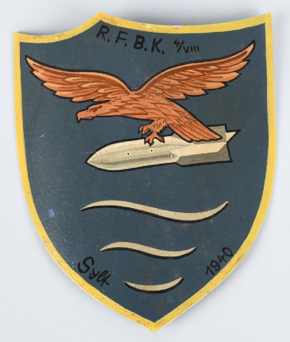 WWII LUFTWAFFE RESERVE AIRFIELD VEHICLE INSIGNIA