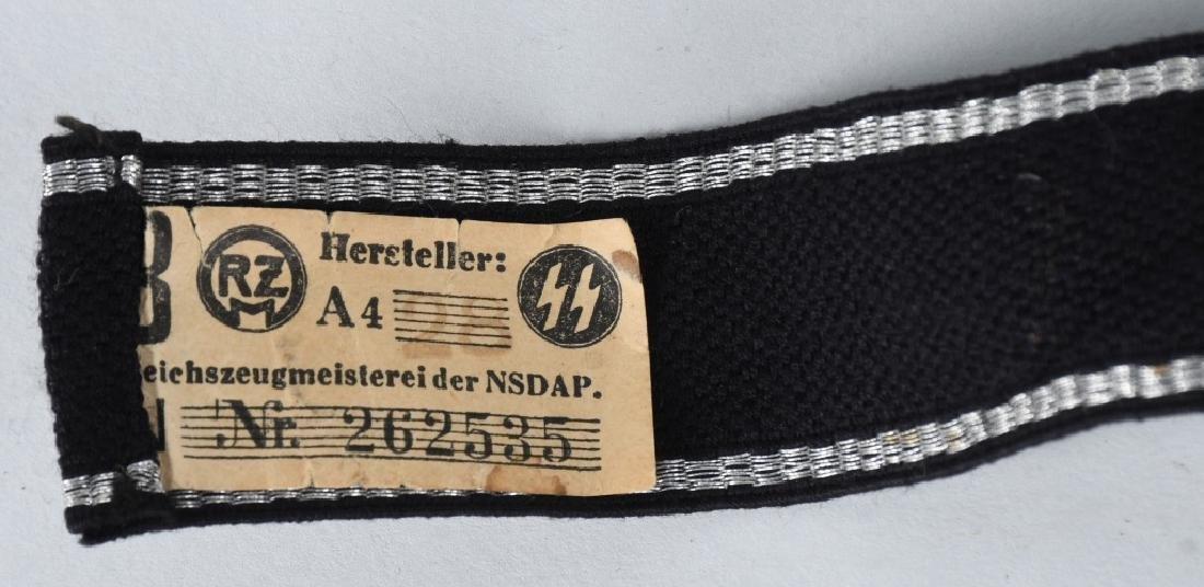 WWII NAZI GERMAN WAFFEN SS POLIZEI DIV. CUFFTITLE - 5