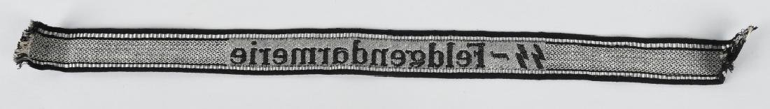 WWII NAZI WAFFEN SS-FELDGENDARMERIE EM CUFFTITLE - 3