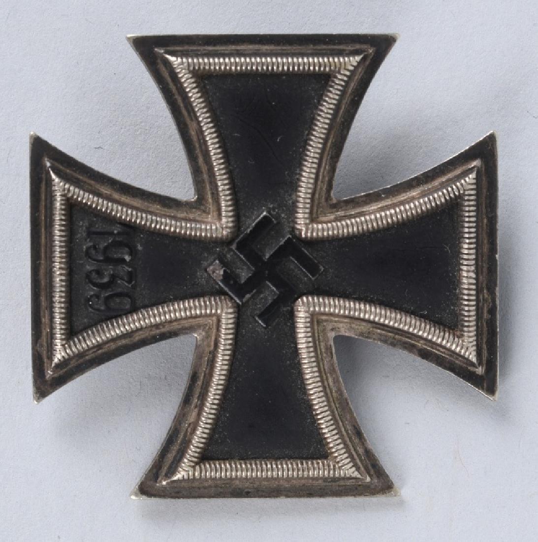 WWII NAZI GERMAN IRON CROSS 1ST CLASS