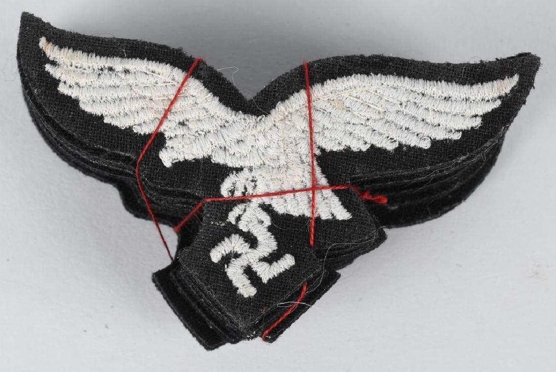 WWII NAZI GERMAN LUFTWAFFE EAGLES - 9 UNISSUED