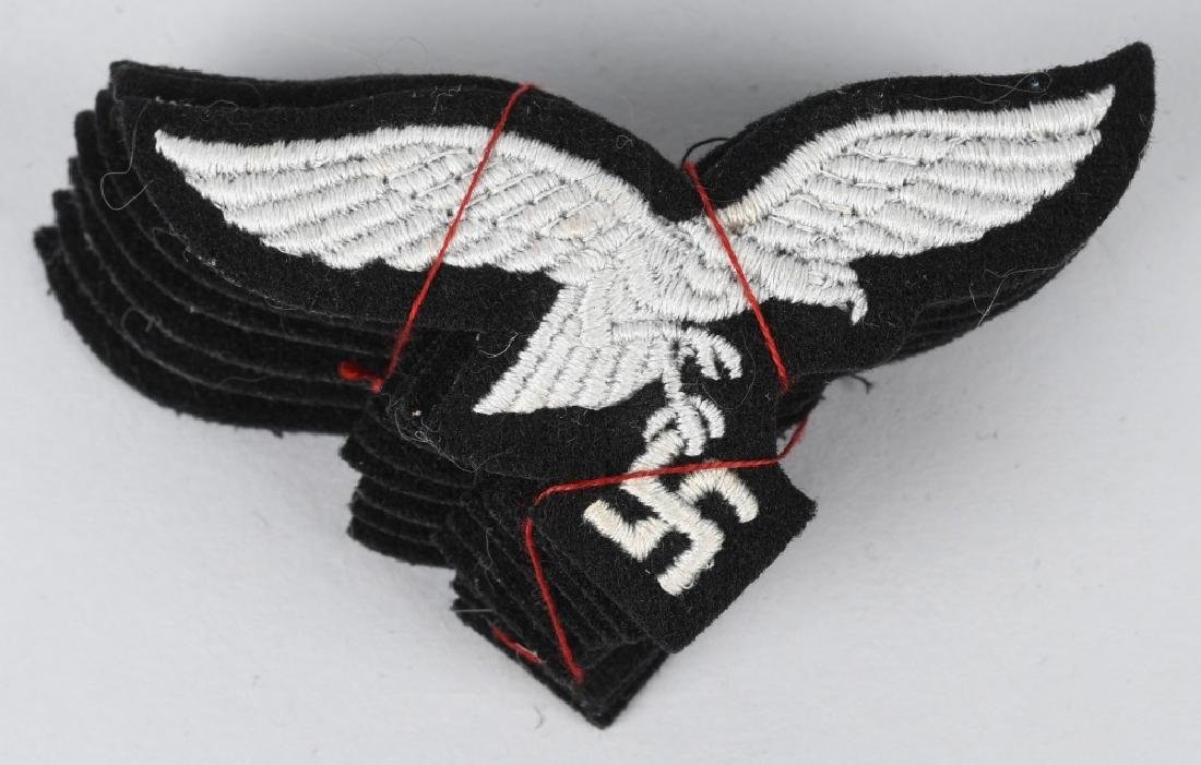 WWII NAZI GERMAN LUFTWAFFE EAGLES - 9 UNISSUED - 3