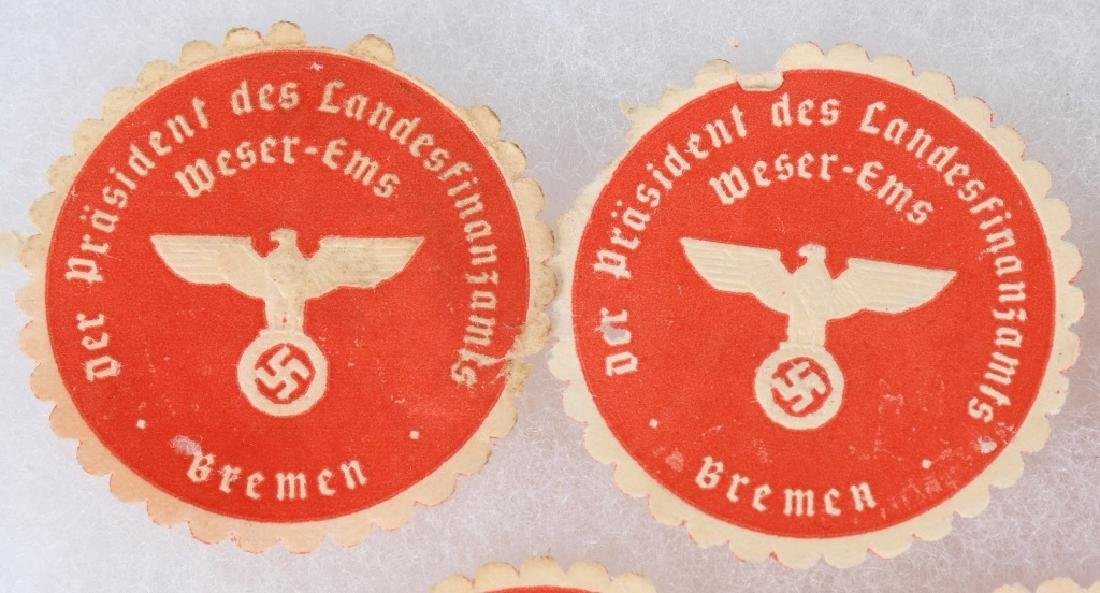 WWII NAZI GERMAN ENVELOPE FLAP SEALERS - 2
