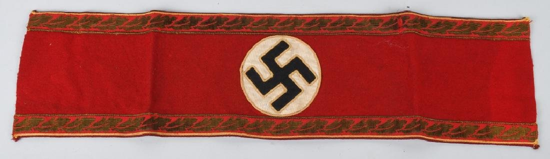 WWII NAZI GERMAN REICHSLEITUNG DEPT ARMBAND