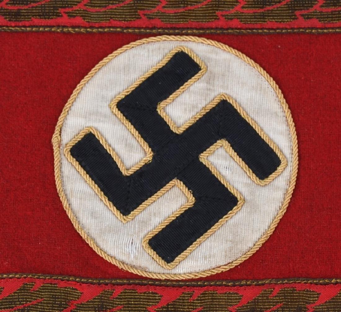 WWII NAZI GERMAN REICHSLEITUNG DEPT ARMBAND - 2