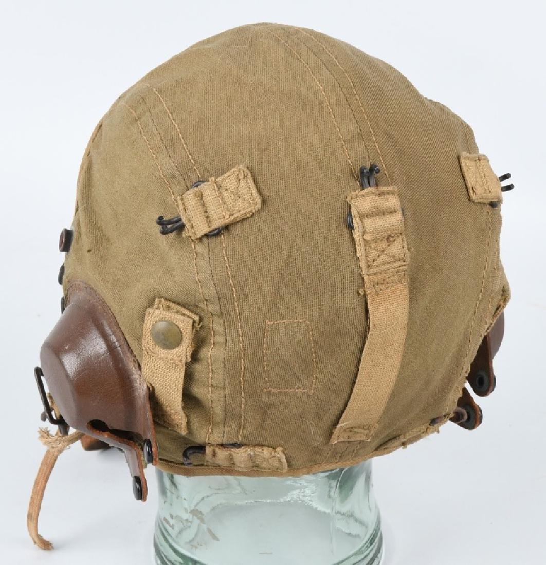 WWII U.S. ARMY AIR FORCE FLIGHT HELMET LOT - 5