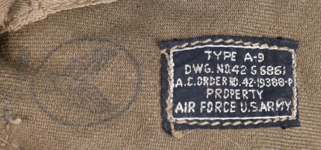 WWII U.S. ARMY AIR FORCE FLIGHT HELMET LOT - 8
