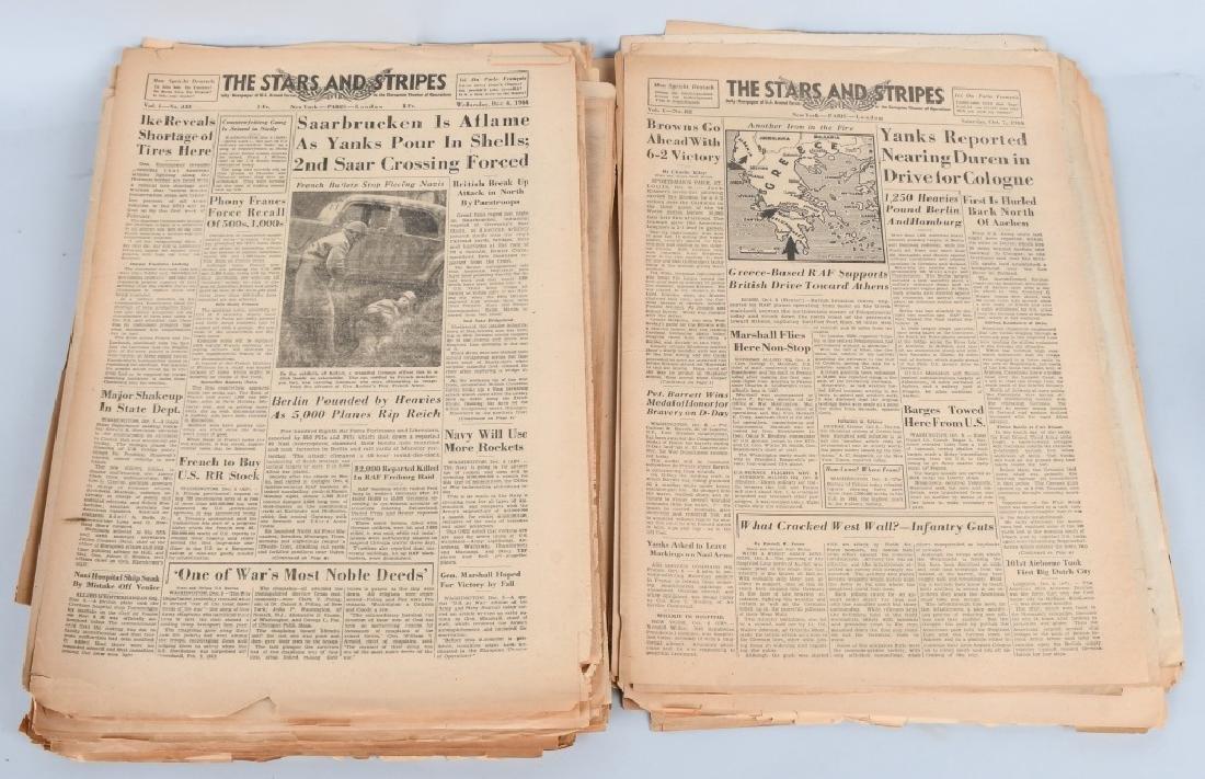 WWII U.S. STARS & STRIPES NEWSPAPER LOT - 140 - 3