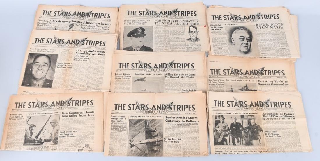 WWII U.S. STARS & STRIPES NEWSPAPER LOT - 140 - 8