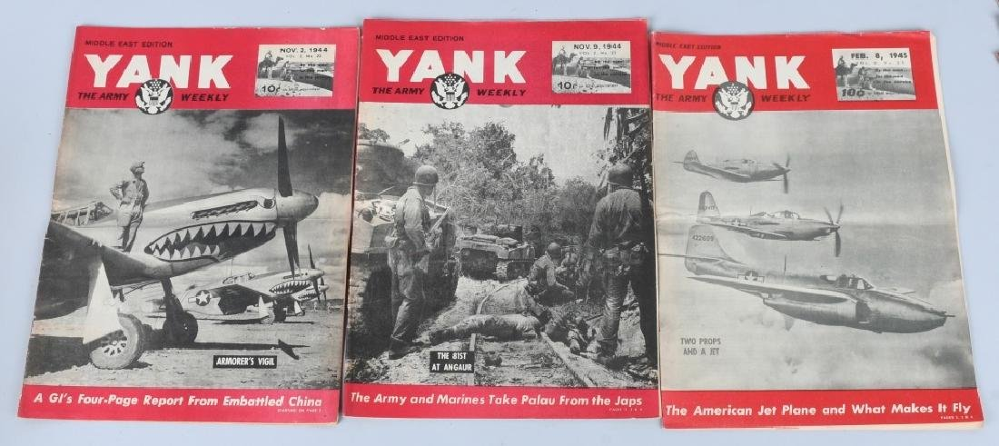 WWII U.S YANK MAGAZINE - 92 MAGAZINES - 2