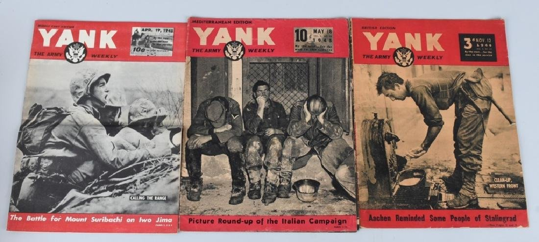 WWII U.S YANK MAGAZINE - 92 MAGAZINES - 3
