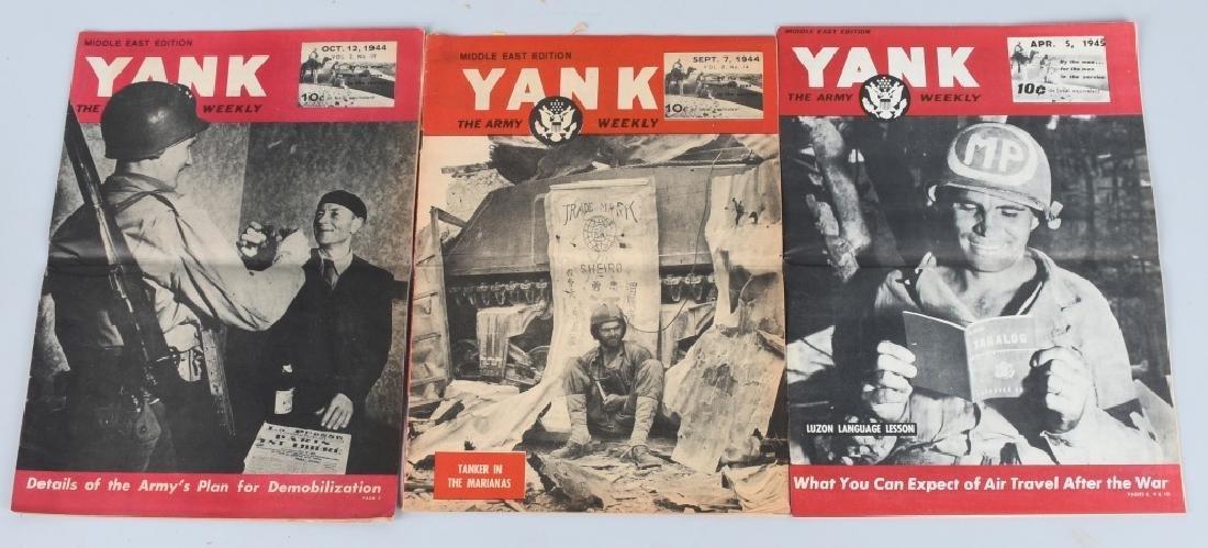 WWII U.S YANK MAGAZINE - 92 MAGAZINES - 4