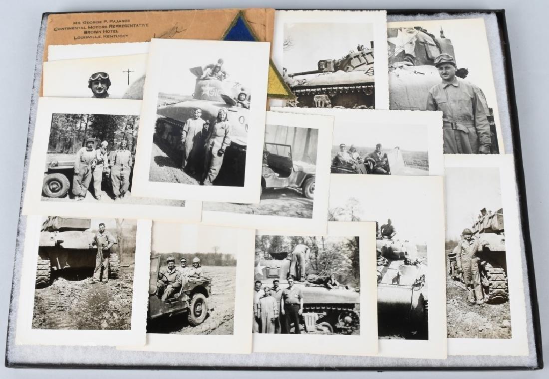 WWII U.S. TANK CORPS PHOTOGRAPH GROUP