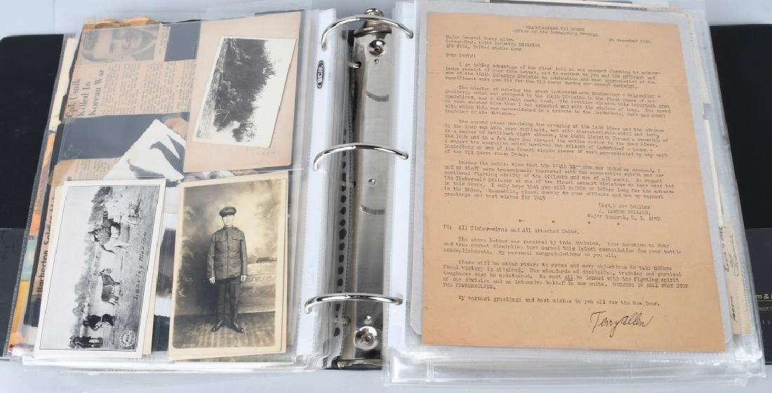 WWI WWII - POST WAR U.S. PHOTO AND EPHEMERA LOT - 10