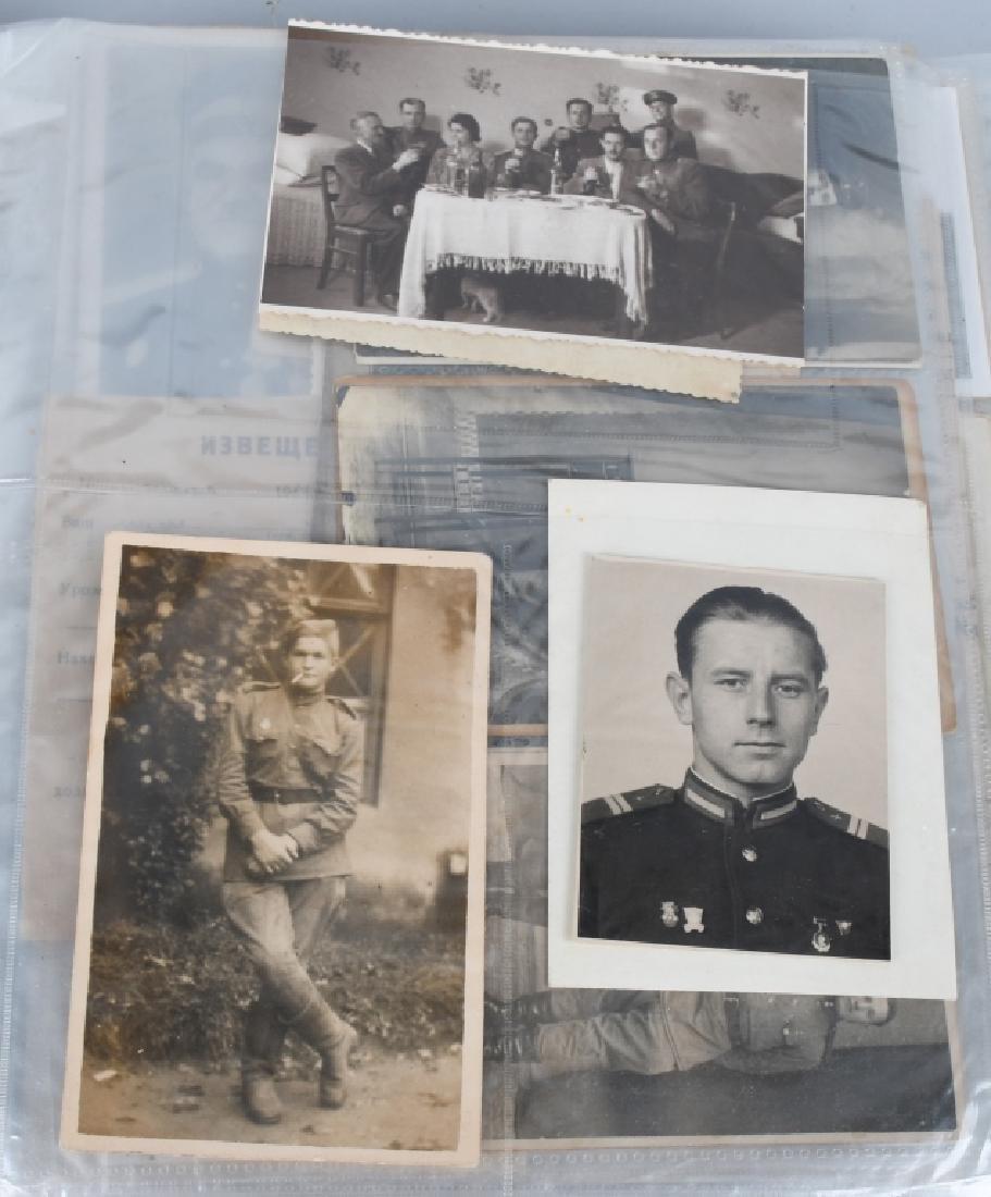 WWI WWII - POST WAR U.S. PHOTO AND EPHEMERA LOT