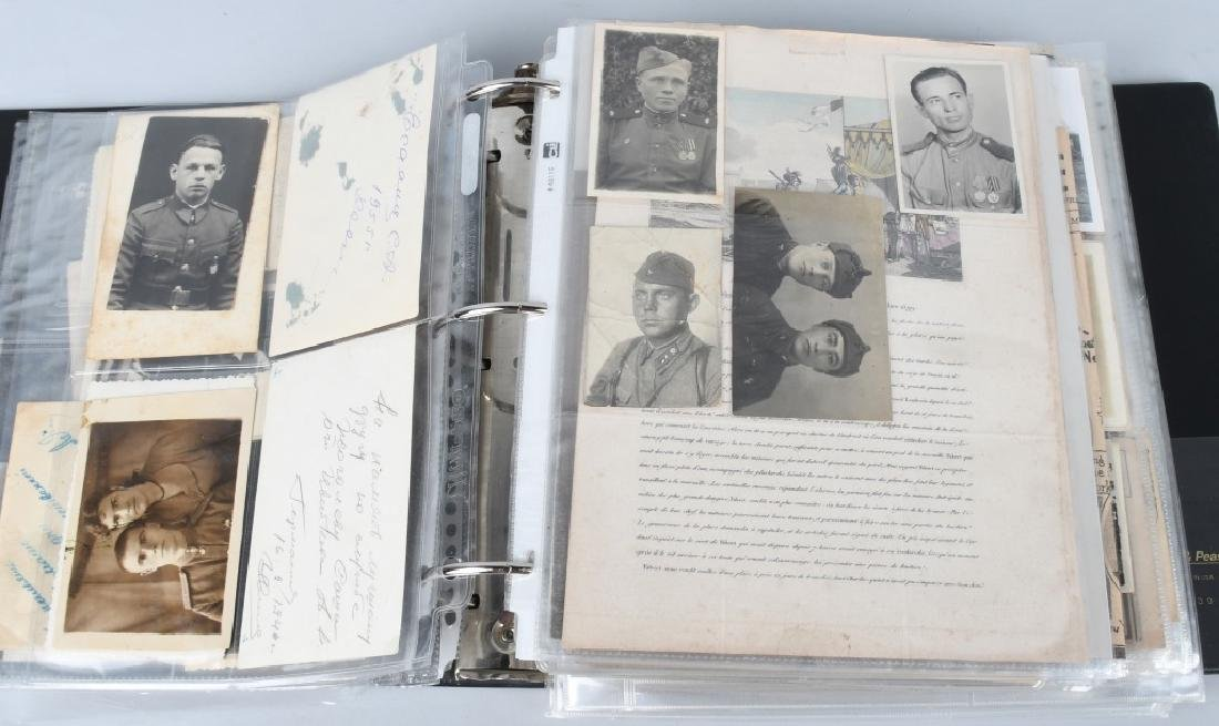 WWI WWII - POST WAR U.S. PHOTO AND EPHEMERA LOT - 4