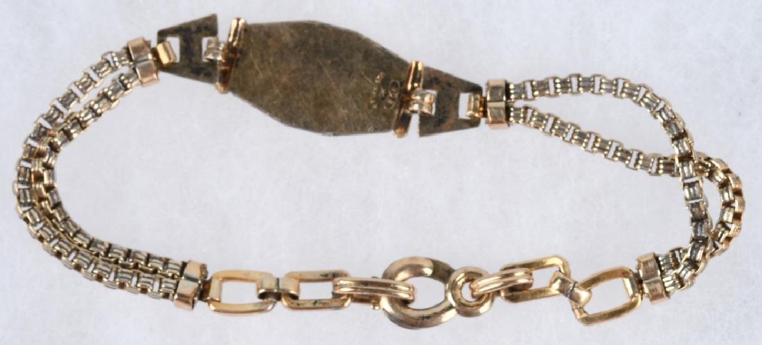 WWII U.S.WAC WOMEN'S ARMY CORPS IDED BRACELET - 4