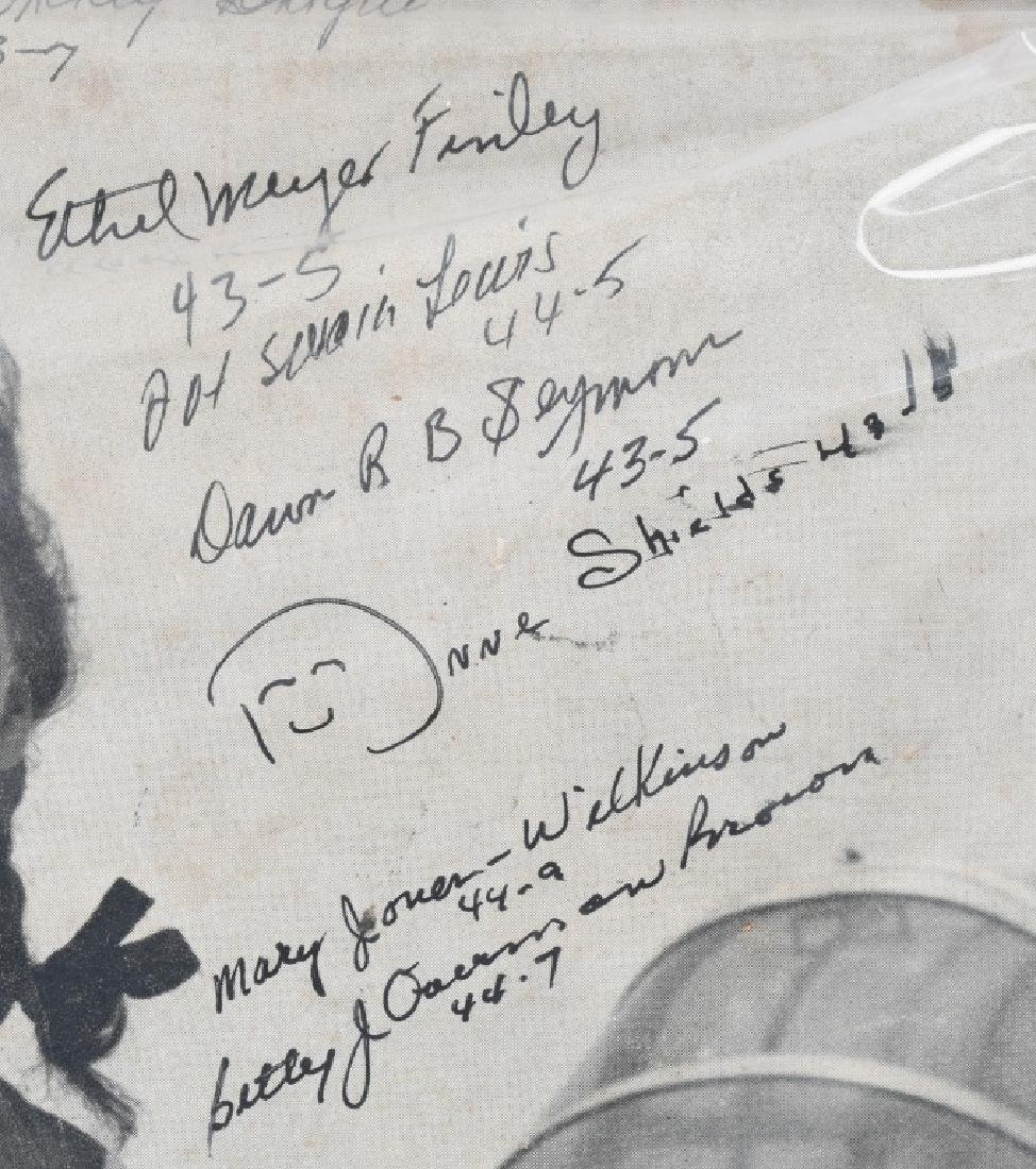 WWII US AUTOGRAPH WASP EPHEMERA INC 1943 LIFE MAG. - 5