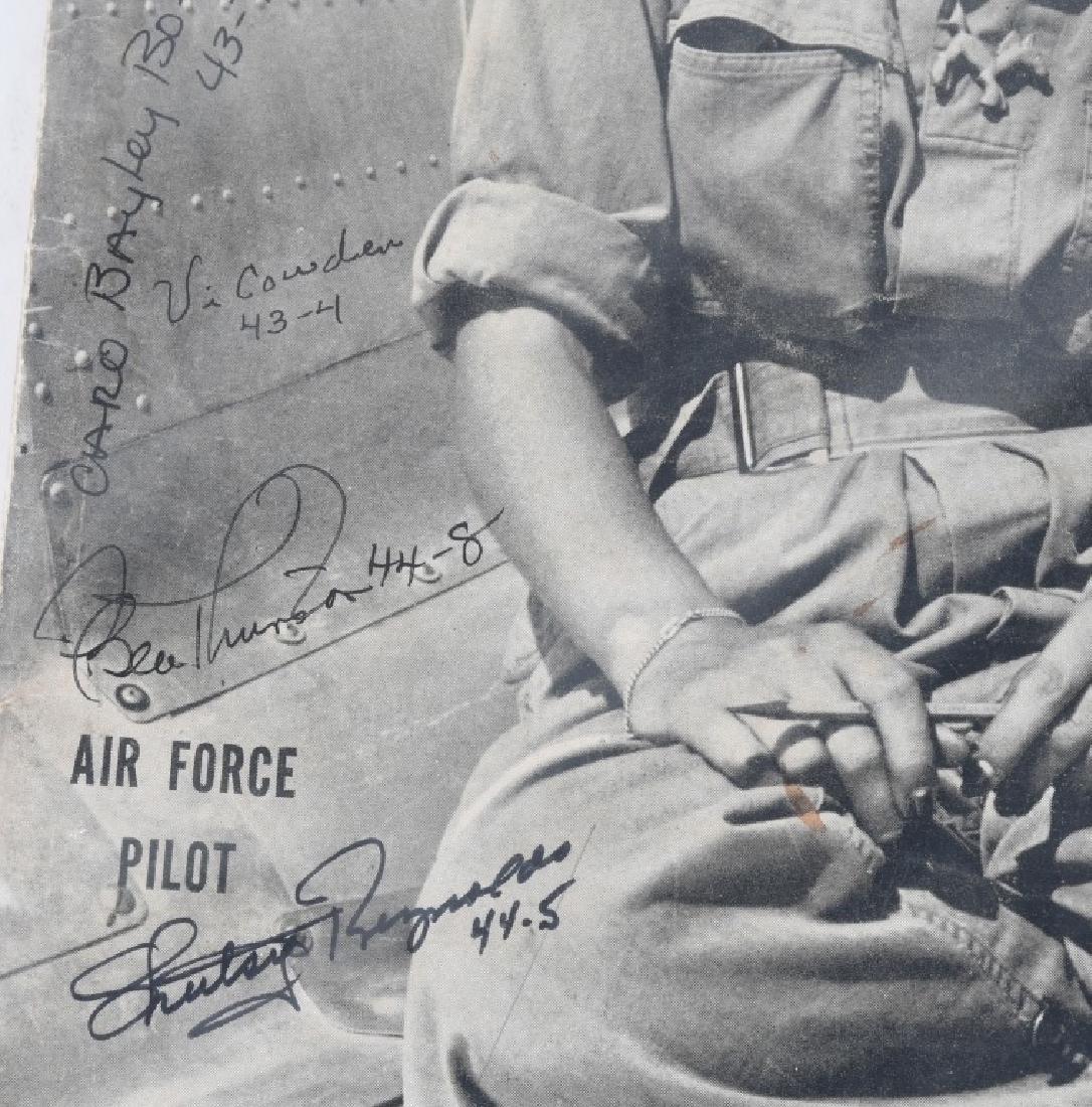 WWII US AUTOGRAPH WASP EPHEMERA INC 1943 LIFE MAG. - 7