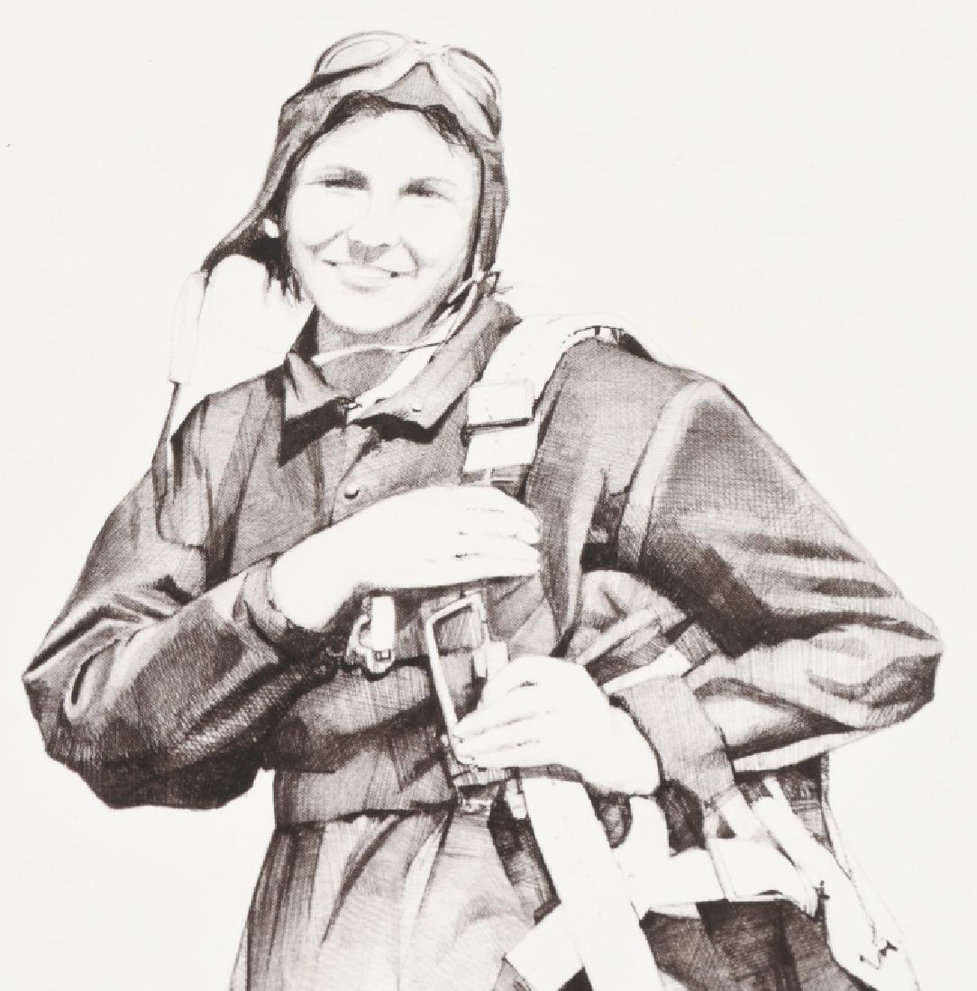 WWII US AUTOGRAPH WASP EPHEMERA INC 1943 LIFE MAG. - 9