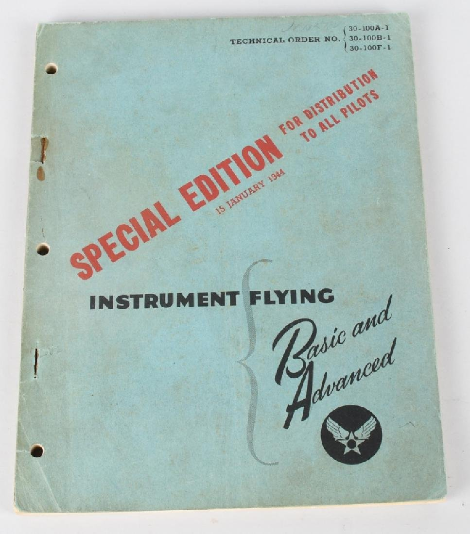 WWII U.S. ARMY AIR FORCE FLYING MANUALS. - 10