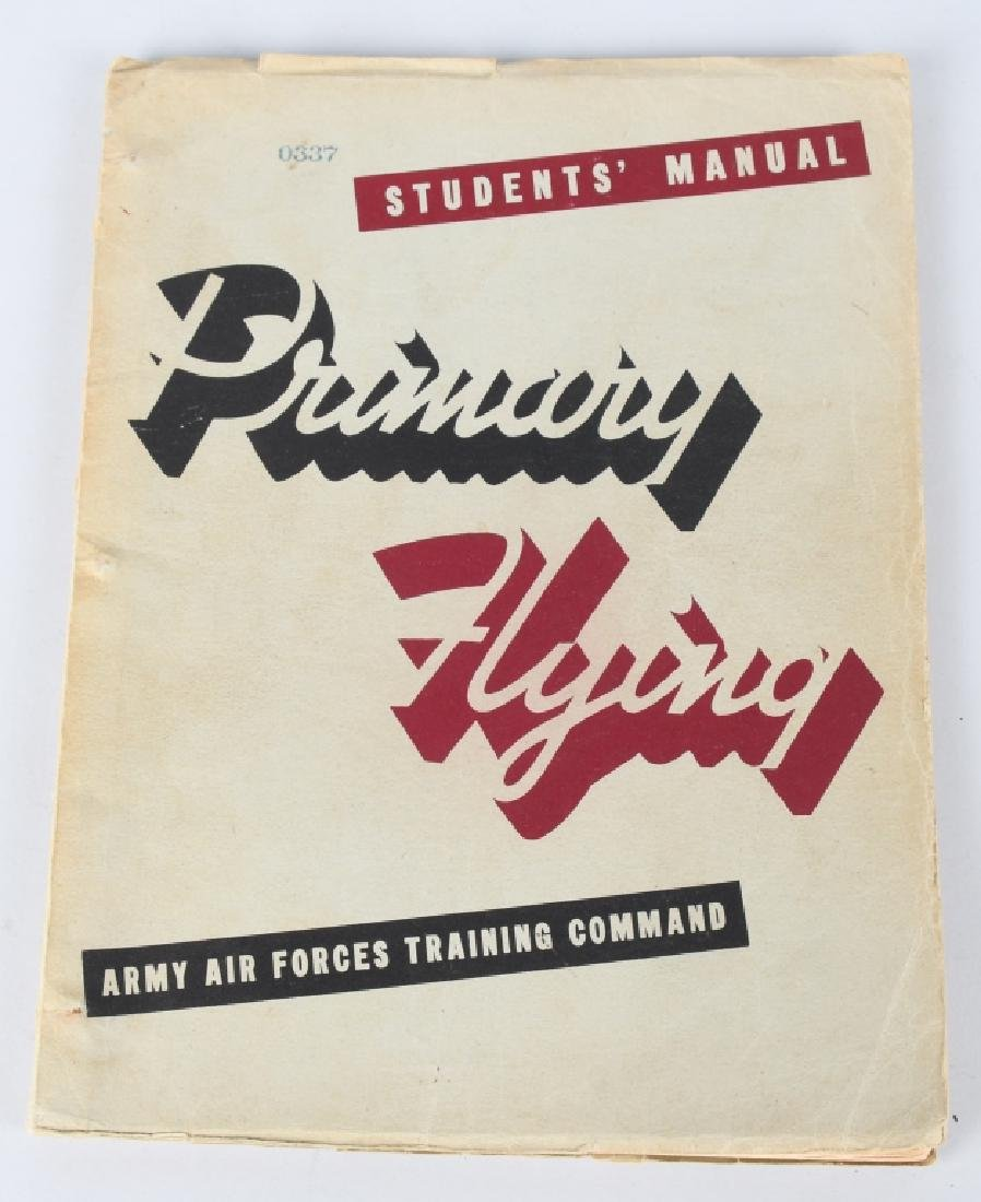 WWII U.S. ARMY AIR FORCE FLYING MANUALS. - 2