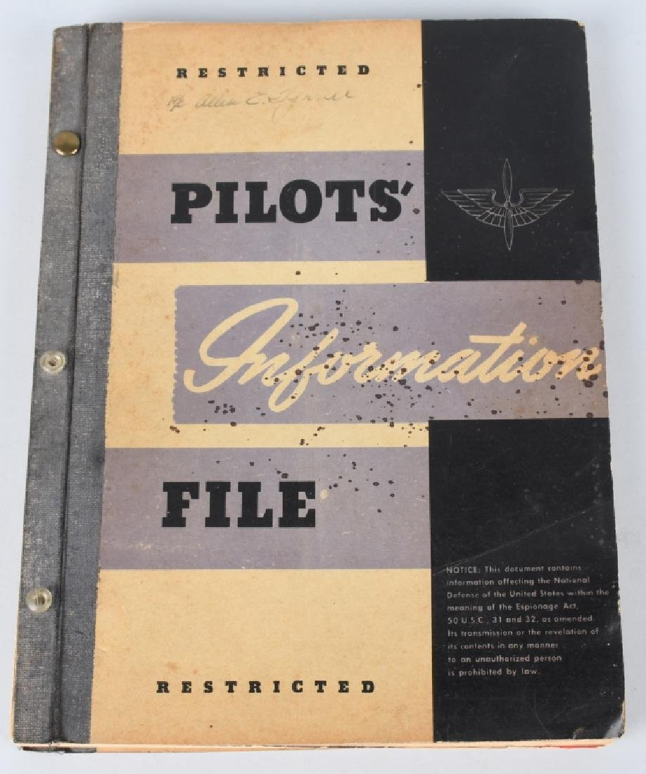 WWII U.S. ARMY AIR FORCE FLYING MANUALS. - 5