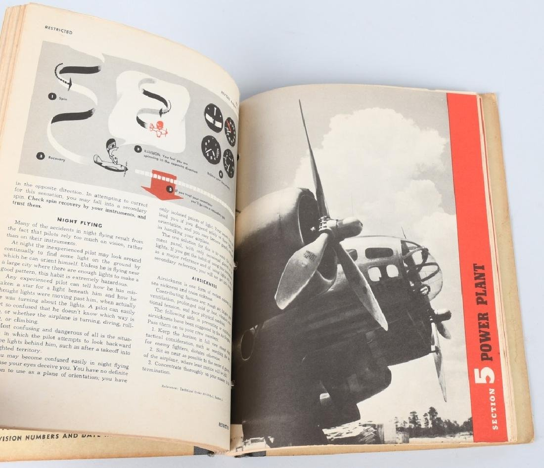 WWII U.S. ARMY AIR FORCE FLYING MANUALS. - 6