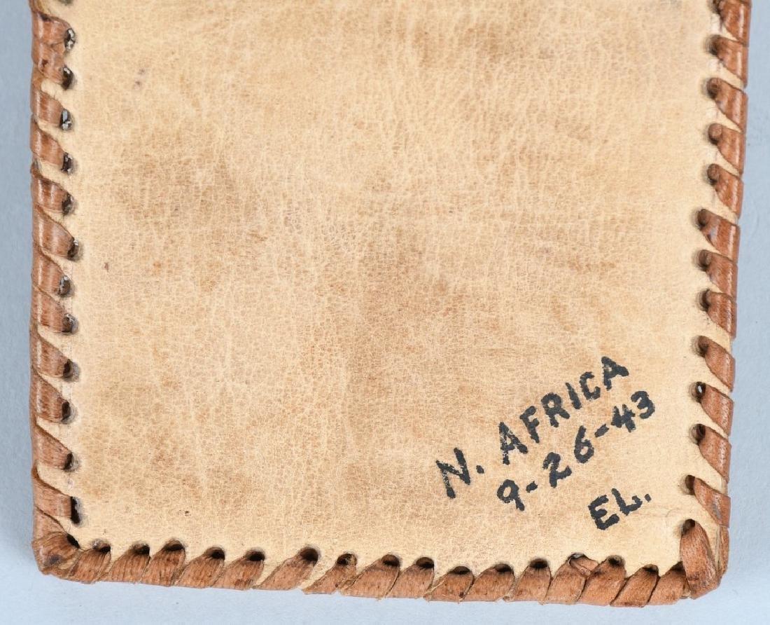 WWII U.S. NORTH AFRICA G.I. MAIL HOME SOUVENIR - 7