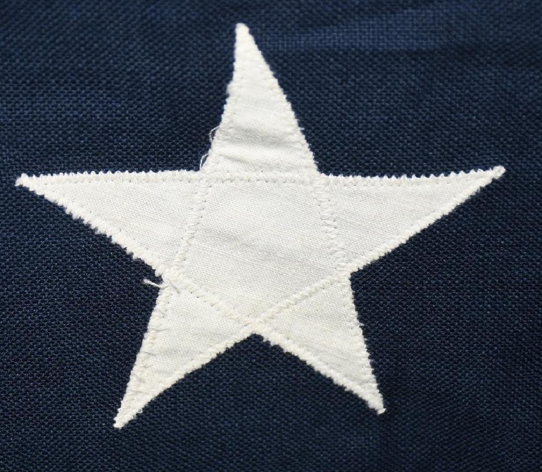 WWII US 48 STAR FLAG PHILADELPHIA Q.M. DEPOT - 5