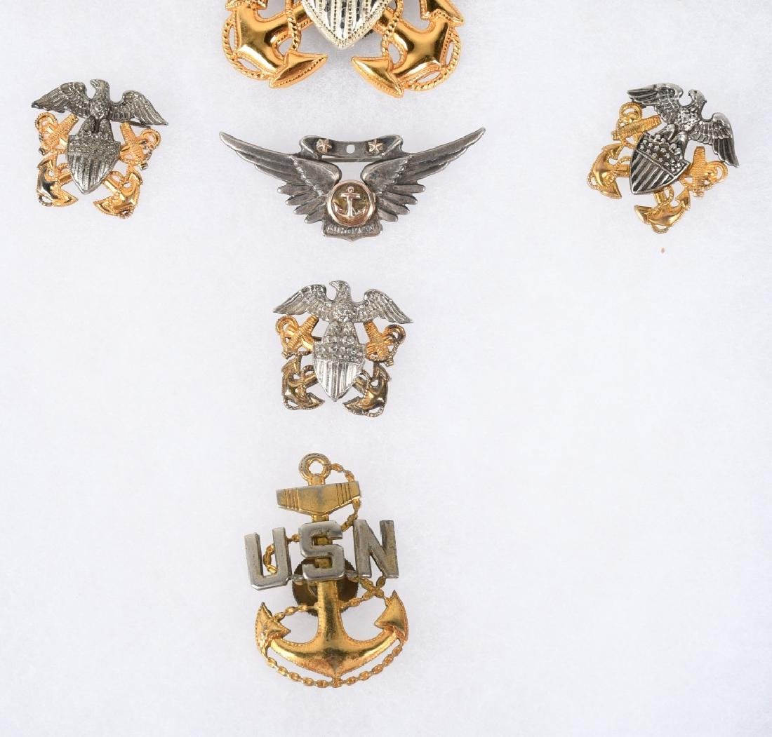 WWII NAVY & NAVAL AVIATON WINGS & INSIGNIA LOT 11 - 3