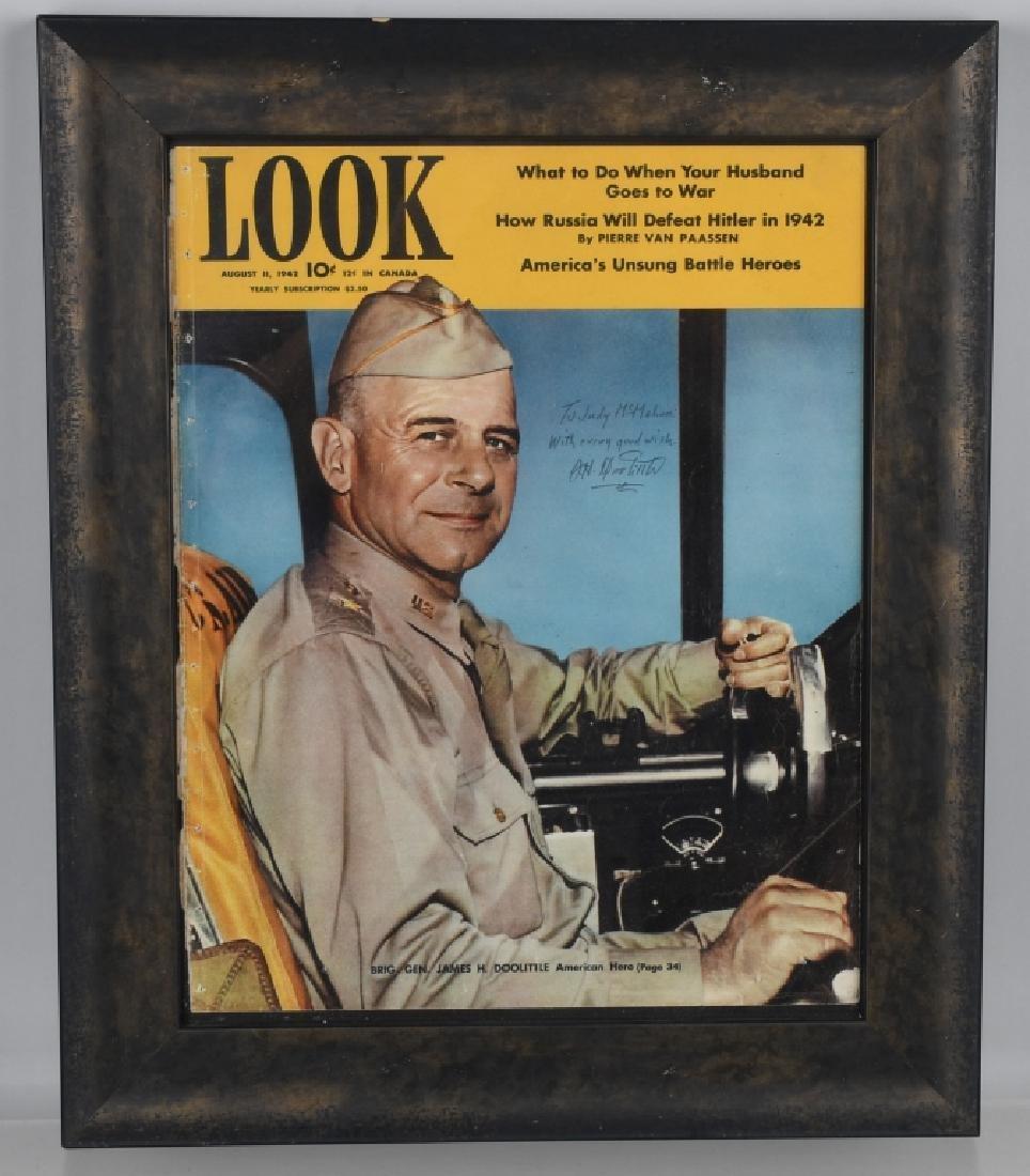 WWII BRIG. GEN JIMMY DOOLITTLE AUTOGRAPH
