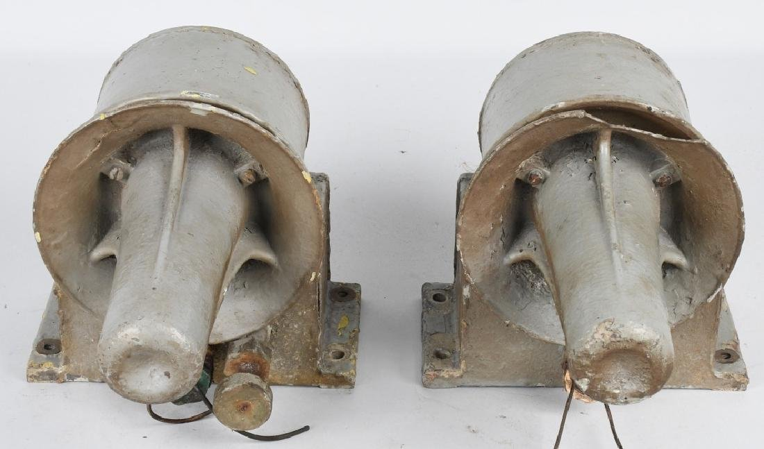 WWII U.S. NAVY SHIP SPEAKERS - HORNS