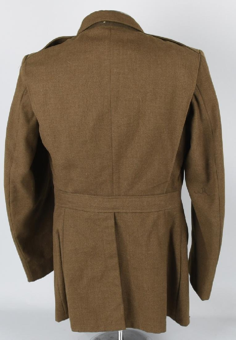 WWII 9TH US ARMY AAF COMBAT CREW JACKET W/ WINGS - 6
