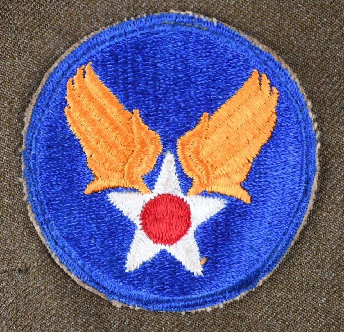WWII 9TH US ARMY AAF COMBAT CREW JACKET W/ WINGS - 8
