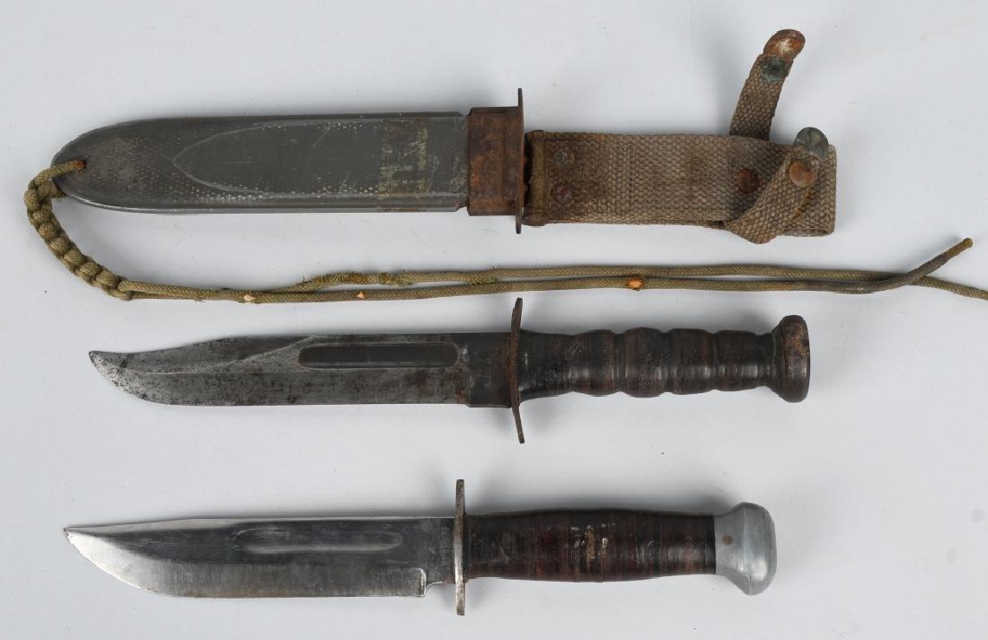 WWII US NAVY MK2 KNIFE ROBESON & PAL RH36