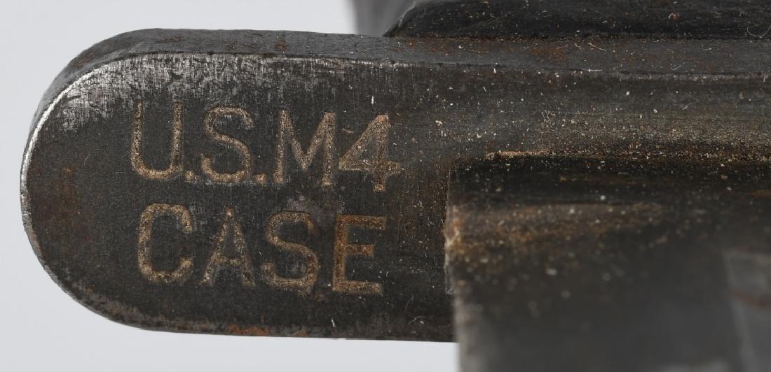 WWII US M 4 BAYONET FIGHTING KNIFE LOT (2) - 4