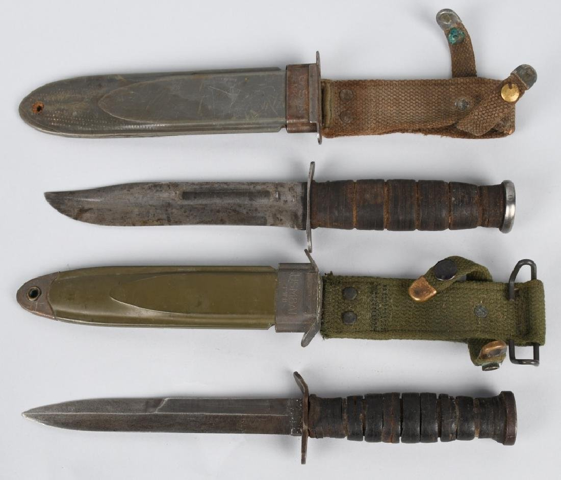 WWII USN MK2 KABAR FIGHTING KNIFE M 3 KNIFE