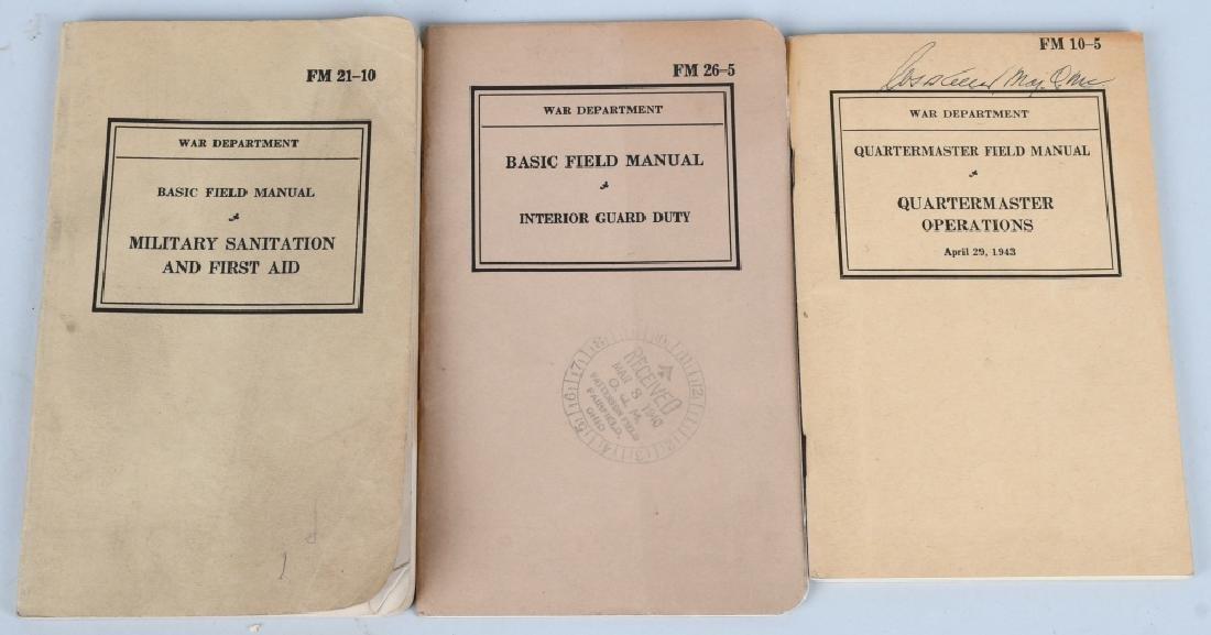 WWII U.S. MILITARY TECHNICAL & FIELD MANUAL LOT 17 - 3