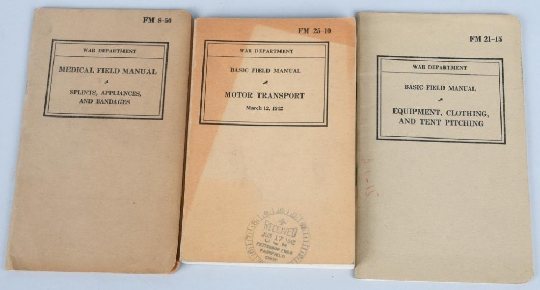 WWII U.S. MILITARY TECHNICAL & FIELD MANUAL LOT 17 - 4