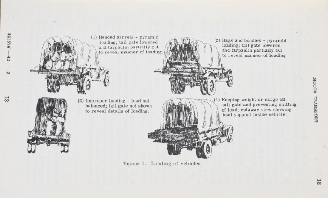 WWII U.S. MILITARY TECHNICAL & FIELD MANUAL LOT 17 - 5
