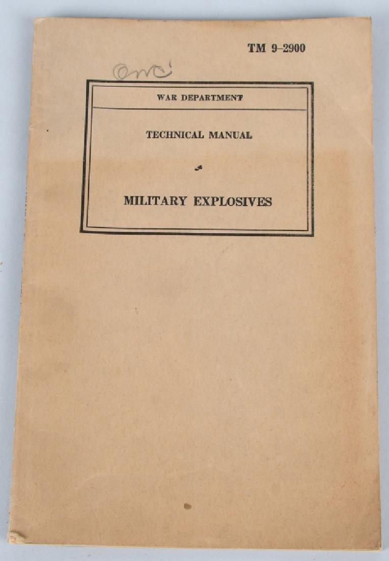 WWII U.S. MILITARY TECHNICAL & FIELD MANUAL LOT 17 - 6